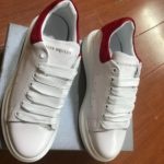 Alexander Mcqueen Basic White/red