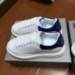 Alexander Mcqueen Basic White/blue