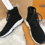 Balenciaga Speed Trainer - Black/white with Laces