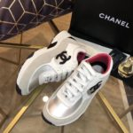 Chanel Sneakers Low Model - Basic with Rose inside