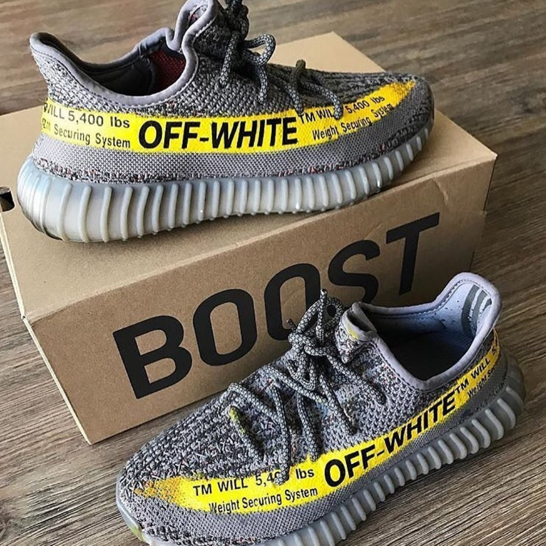 off white yeezy 350